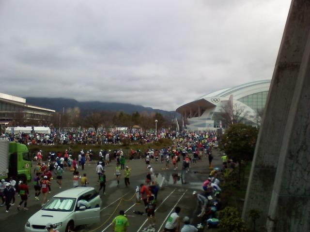 長野マラソン、完走しました